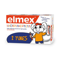 Elmex® kindertandpasta tube 2x50ml