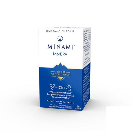 Minami morepa smart fats caps 60