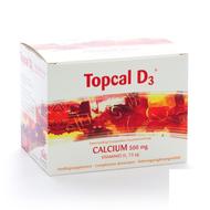 Topcal d3 gran effervescent sachet 60