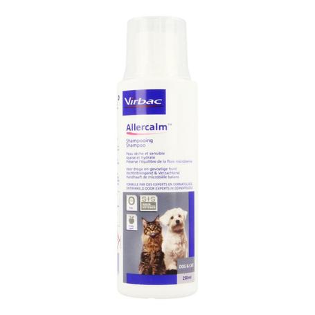 Allerderm allercalm sh dermato chien+chat 250ml
