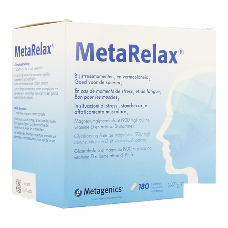 Metagenics Metarelax tabl 180pc