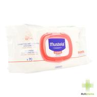 Mustela Verzachtende reinigende doekjes voor de baby 70st