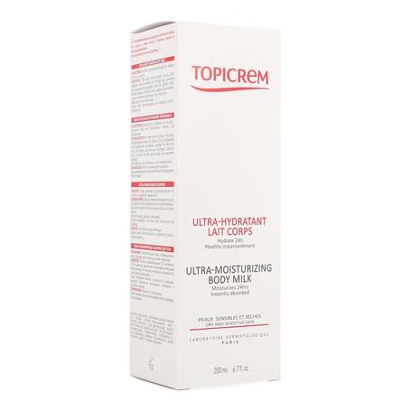 Topicrem hydra lait corps 200ml