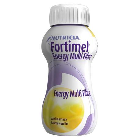 Fortimel Energy Multi Fibre Vanille 200 ml 4st