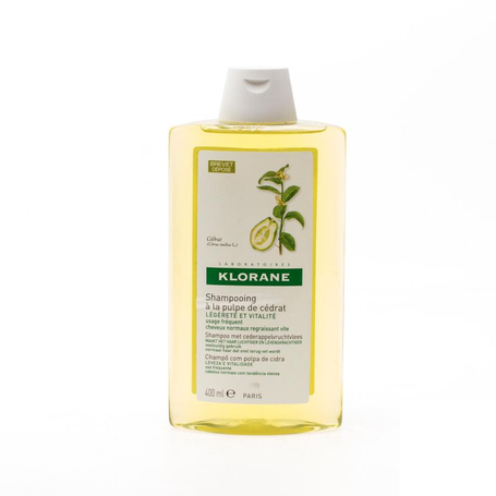 Klorane Shampoo Cederappelvruchtvlees 400ml