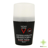 Vichy homme deo a/transp. 72h bille 50ml