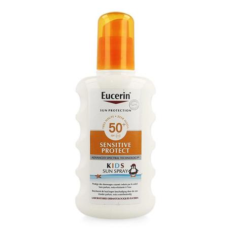 Eucerin Sun spray sensitive protect kinderen SPF50+ 200ml