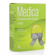 Medica Comprimés à sucer pour la gorge lemon 36pc