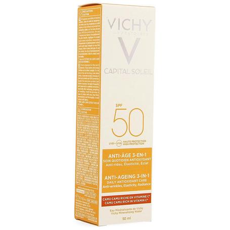 Vichy Zon Anti-Aging 3-in-1 antioxidante verzorging SPF50 50ml