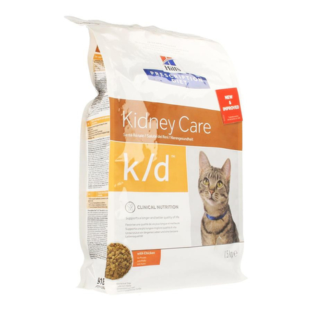 Hills prescrip.diet feline kd 1,5kg 8636m