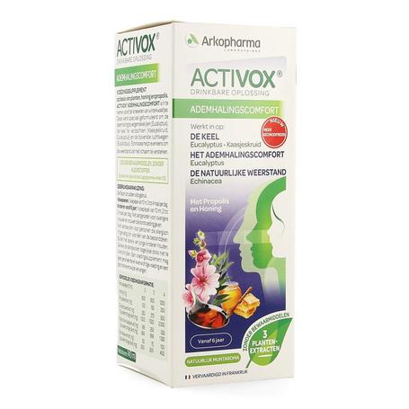 Arkopharma Activox sirop aux herbes 150ml