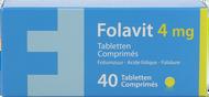 Folavit 4mg comp 40 x 4mg nf rempl.1351394