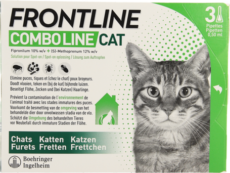 Frontline combo line cat 3x0,5ml