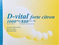 D vital forte citroen 1000/880 bruis zakje 90