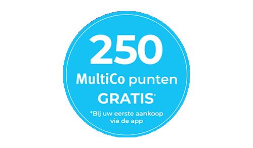 250 MultiCo punten