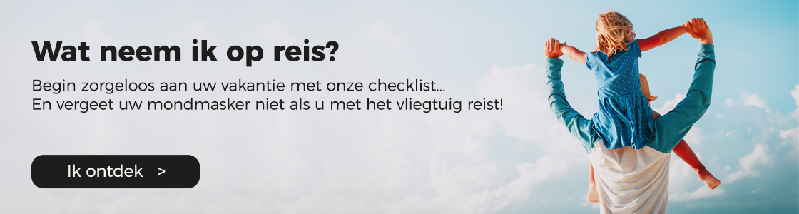 vakantie checklist reisapotheek