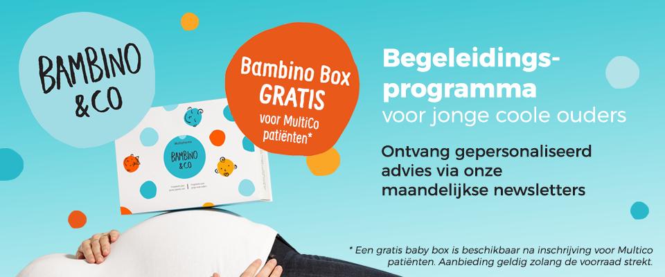 Bambino, programma voor jonge ouders van Multipharma
