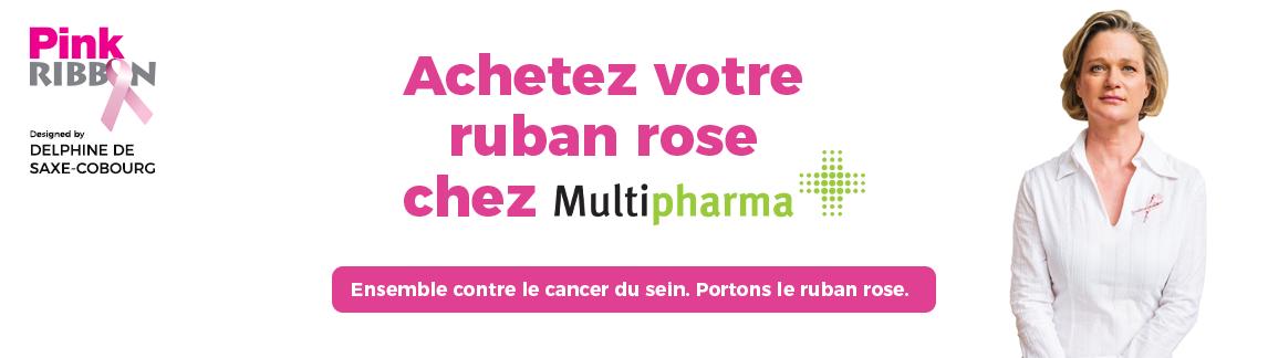 pink ribbon multipharma ruban rose